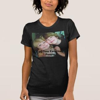 私の2人のお気に入りのな人々 Tシャツ