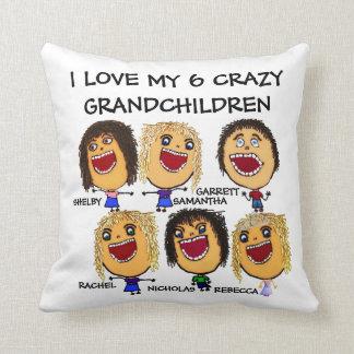私の6人の孫の漫画を愛して下さい クッション
