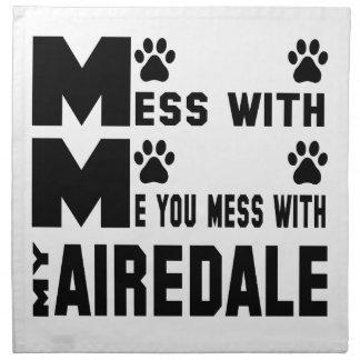 私のAiredaleと台なしにします ナプキンクロス