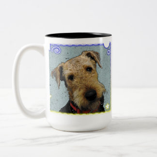 私のAiredaleのマグを愛して下さい ツートーンマグカップ