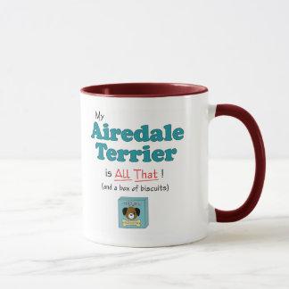 私のAiredaleテリアはすべてそれです! マグカップ