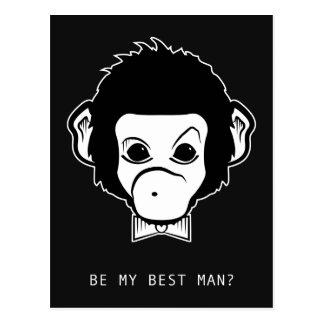 私のbestmanですか。 氏猿 ポストカード