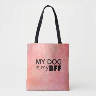 私のBFFのピンクの渦巻のトートバック トートバッグ