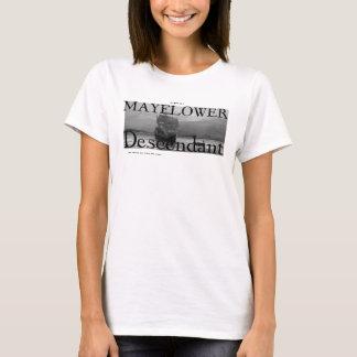 私のBFFはMayflowerの子孫であり、これはあります Tシャツ