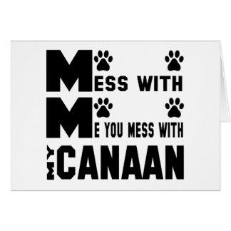 私のCanaanと台なしにします カード