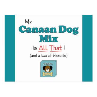 私のCanaan犬の組合せはすべてそれです! ポストカード