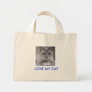 私のCATを愛して下さい ミニトートバッグ