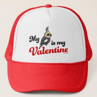 私のCockatielは私のバレンタインです キャップ