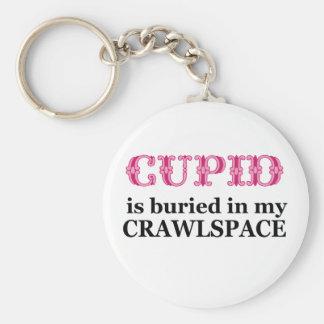 私のCrawlspaceで埋められるキューピッド キーホルダー
