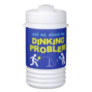 私のDinking Pickleballの水差しについて私に尋ねて下さい ドリンククーラー