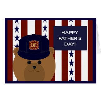 私のEMTの英雄及びパパへの幸せな父の日! カード