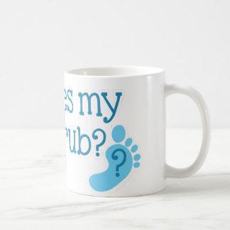 私のFOOTRUBがあるところ コーヒーマグカップ
