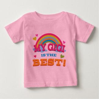 私のGigiはベストです ベビーTシャツ