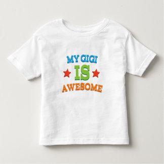 私のGigiは素晴らしいです トドラーTシャツ
