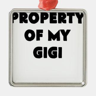 私のgigi.pngの特性 メタルオーナメント