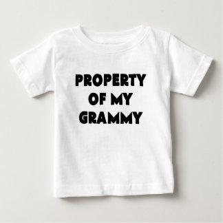 私のgrammy.pngの特性 ベビーTシャツ