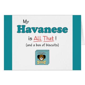 私のHavaneseはすべてそれです! カード