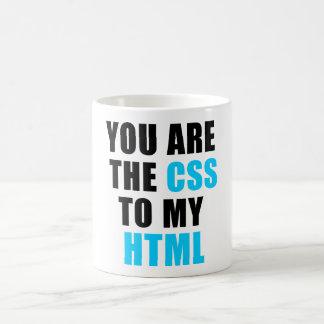 私のHTMLへCSSです コーヒーマグカップ