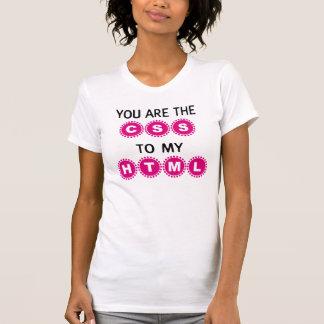 私のHTMLへCSSです Tシャツ