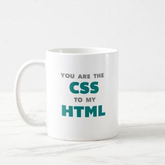 私のHTML -コーヒー・マグへCSSです コーヒーマグカップ