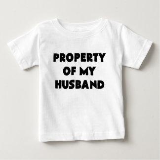 私のhusband.pngの特性 ベビーTシャツ