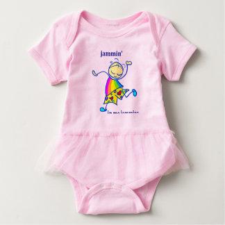 私のJammin jammiesの幼児のTシャツの服 ベビーボディスーツ