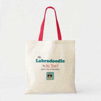 私のLabradoodleはすべてそれです! トートバッグ
