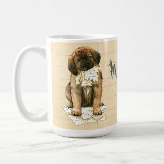 私のLeonbergerは私の宿題を食べました コーヒーマグカップ