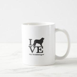 私のLeonbergerを愛して下さい コーヒーマグカップ