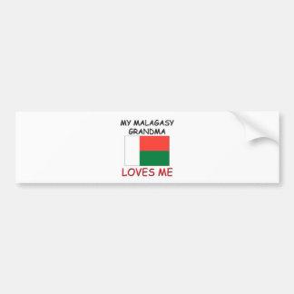 私のMalagasy祖母は私を愛します バンパーステッカー