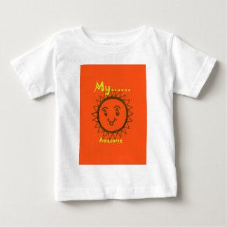 私のMamは素晴らしいです ベビーTシャツ