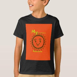 私のMamは素晴らしいです Tシャツ