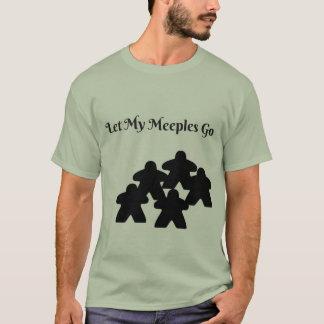 私のmeeplesが行くようにして下さい tシャツ