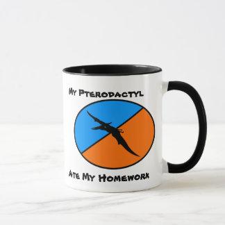 私のPterodactylは私の宿題を食べました マグカップ