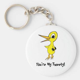 私のTweety Keychain キーホルダー