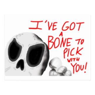 私はあなたと選ぶべき骨を持っています ポストカード