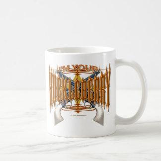 私はあなたのこけももです コーヒーマグカップ
