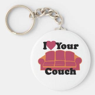 私はあなたのソファを愛します キーホルダー