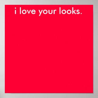 私はあなたの一見を愛します ポスター