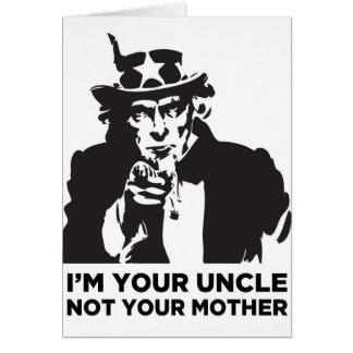 私はあなたの叔父さんNot Your Motherです カード