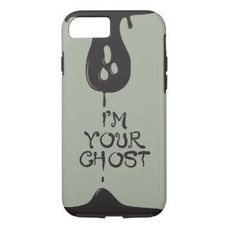 私はあなたの幽霊です! 灰色の堅い電話箱 iPhone 8/7ケース