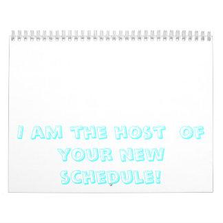 私はあなたの新しいスケジュールのホストです! カレンダー