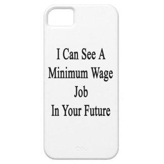 私はあなたの未来のWateの最低の仕事を見ることができます iPhone SE/5/5s ケース