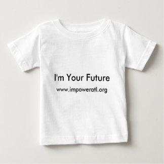 私はあなたの未来、www.impoweratl.orgです ベビーTシャツ
