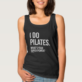 私はあなたの極度のパワー女の子Fiはします-である   何Pilatesをか タンクトップ