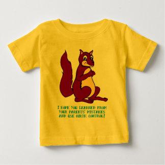 私はあなたの親の間違いから…学んだことを望みます ベビーTシャツ