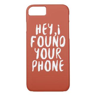 私はあなたの電話を見つけました iPhone 8/7ケース