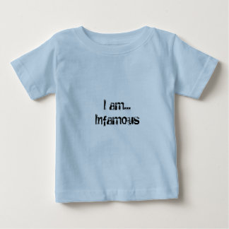 私はあります… 評判が悪いベビーのティー ベビーTシャツ