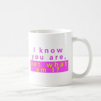 私はあることを知っています コーヒーマグカップ