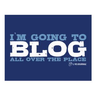 私はいたる所にblogだろう(LiveJournal) ポストカード
